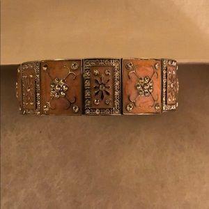 Beautiful enamel stretchy bracelet